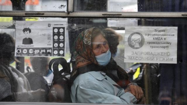 маршрутка Київ транспорт карантин