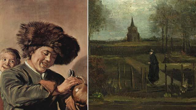 Картина Ван Гога и Халса