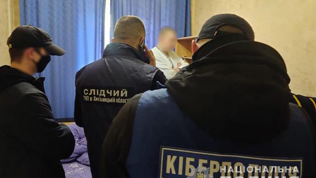 Продавав дитяче порно через месенджери: на Хмельниччині затримали злочинця