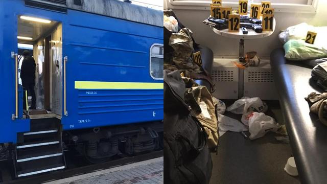 Військових, які влаштували стрілянину у поїзді Костянтинівка-Київ, звільнили з посад