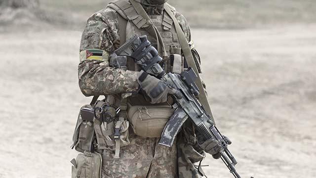 Військовий Мозамбіку