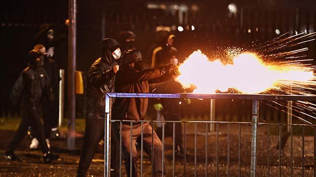 Протести у Белфасті