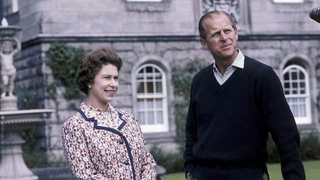 Прицн Филипп и Королева Елизавета II