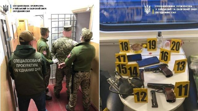 Стрілянина в потязі: одного офіцера покарали, іншого – заарештували