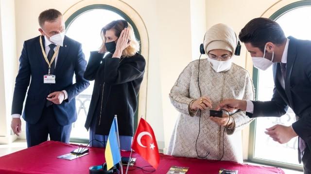 Олена Зеленська_ Еміне Ердоган