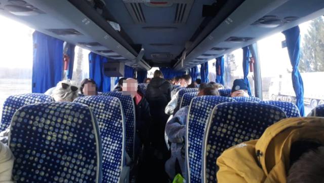 Автобус з білорусами