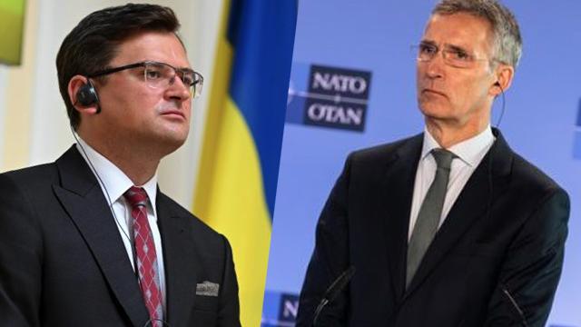 НАТО підтримує Україну не тільки на словах: головні тези розмови Столтенберга і Кулеби