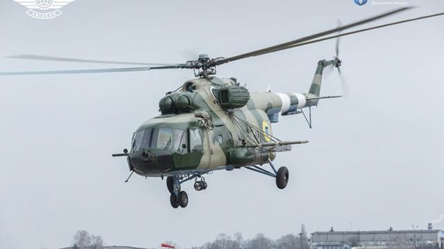 ЗСУ отримали модернізований вертоліт із системою захисту від ракет