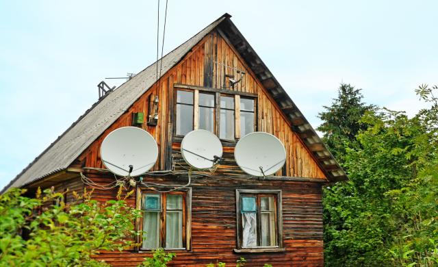 село, інтернет, дім в селі, будинок