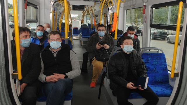 коронавірус, карантин, транспорт, трамвай, Київ