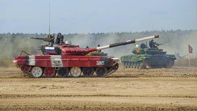 Російські танки Т 72