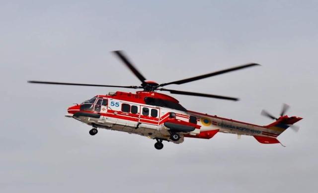 Вертольот рятувальників