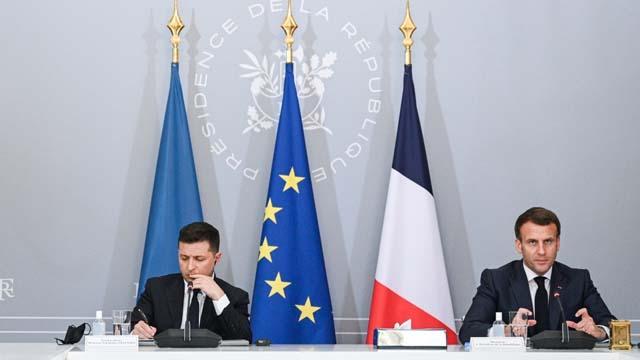 Меркель, Макрон та Зеленський закликали РФ відвести війська від України
