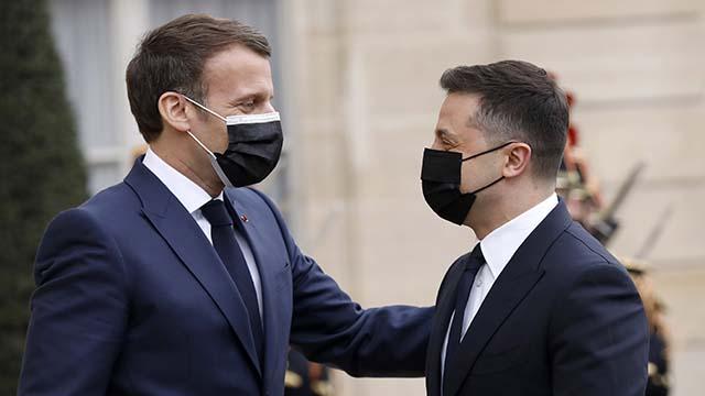 Зустріч Зеленського та Макрона у Парижі
