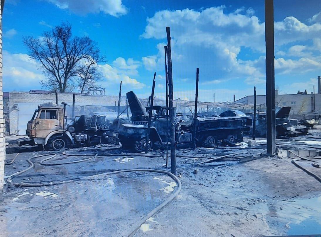 Пожар в Рубежном 1