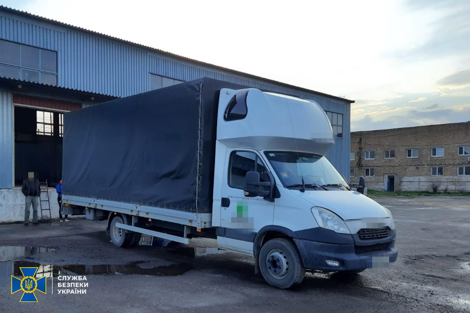 Незаконне вивезення військового обладнання з України припинила СБУ