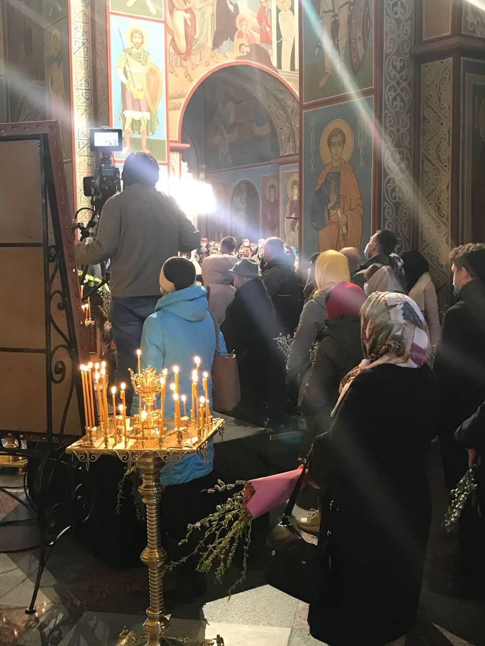 Вербна неділя 2021 в Україні