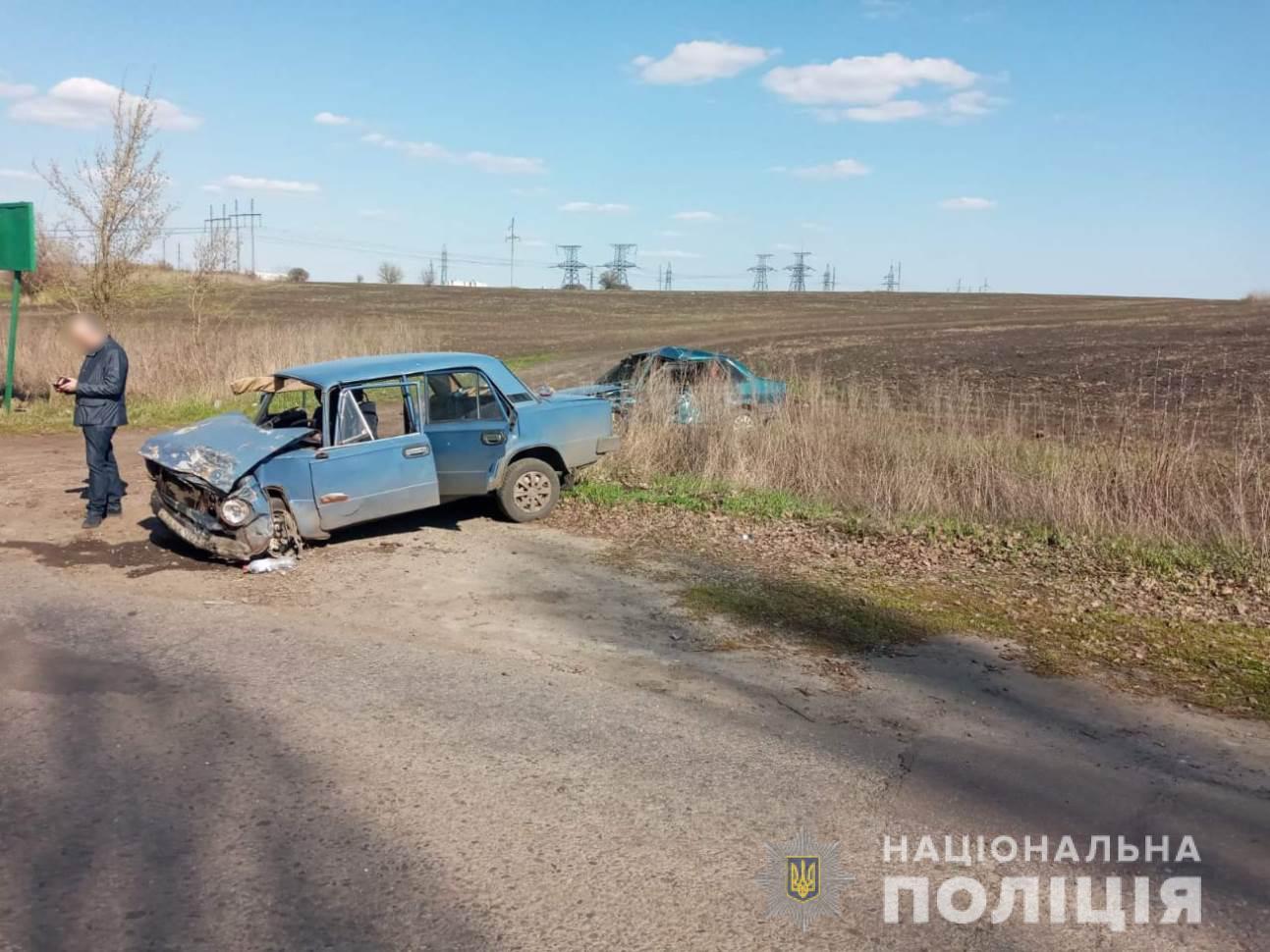 ДТП під Харковом: зіткнулися два ВАЗа, є постраждалі (ФОТО)