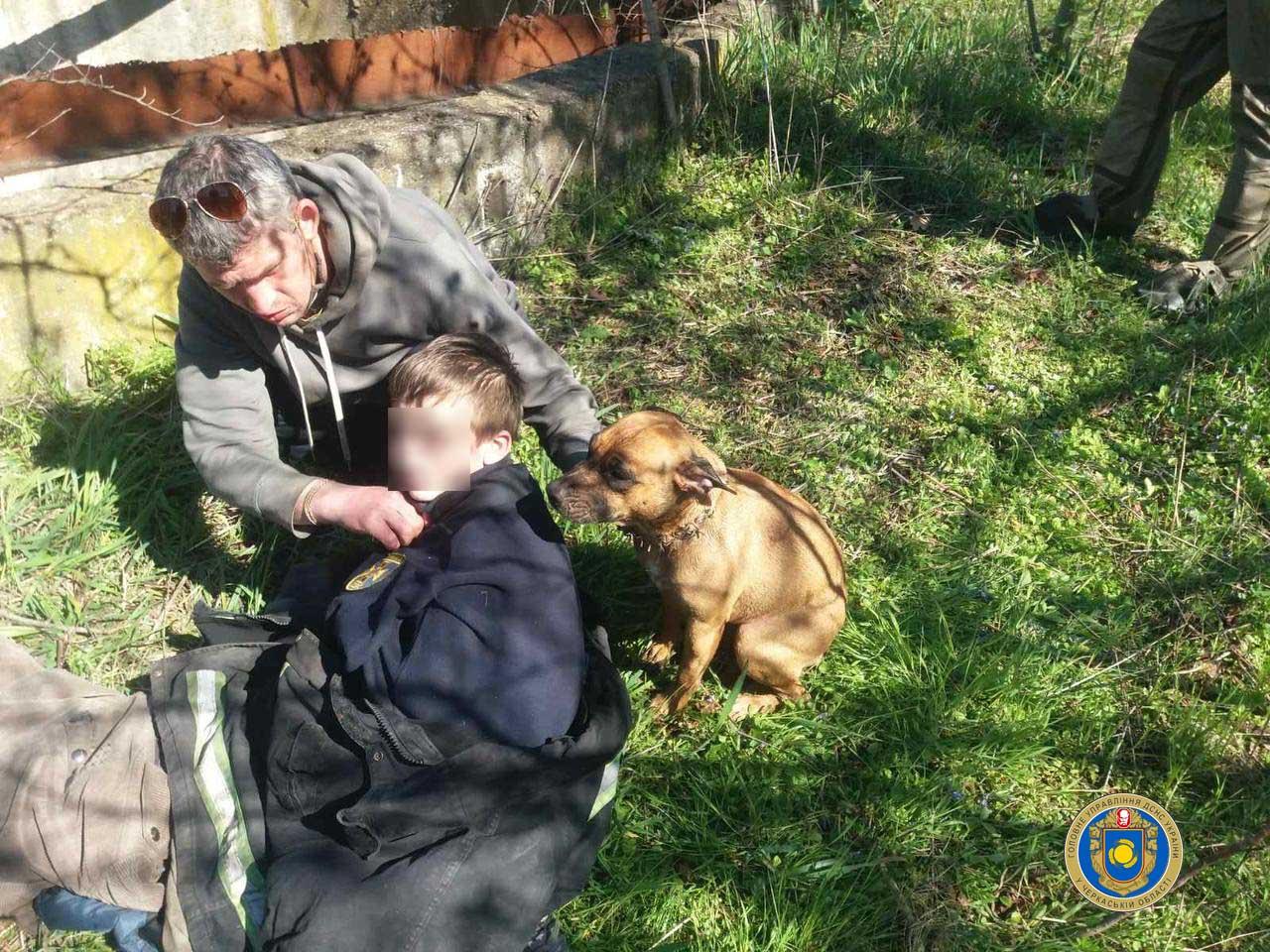 На Черкащині чоловік і дитина опинилися в резервуарі з водою, рятуючи песика