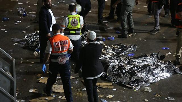 В Ізраїлі під час свята у тисняві загинули кілька десятків людей – ФОТО