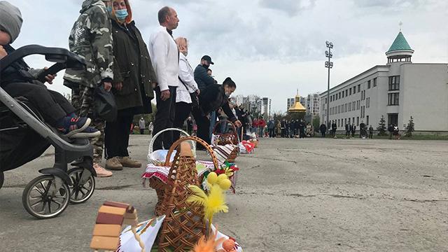 Як у Києві святкують Великдень – ВІДЕО