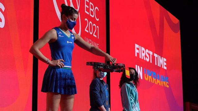 Медали доставляли дронами. Как завершился Чемпионат Европы по бадминтону