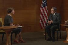 Ми засуджуємо дії РФ: інтерв'ю Олени Фроляк з держсекретарем США Ентоні Блінкеном