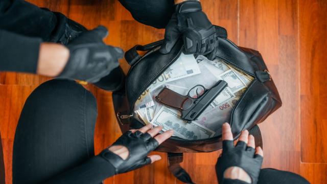 В штате Миннесота грабители взяли заложников в одном из банков