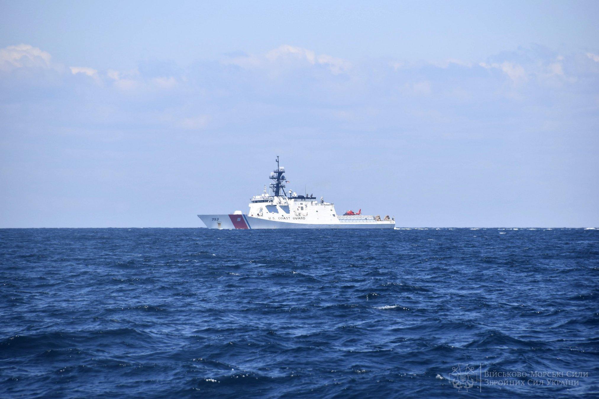 Навчання ВМС ЗС України та берегової охорони США