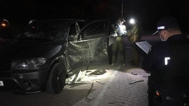 Вибух автомобіля в Івано-Франківську