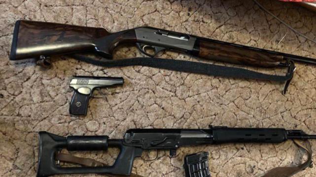 Затримання банда торгівців зброєю