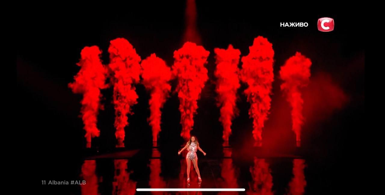 Албания на Евровидении 2021: Анжела Перистери в стиле Beyonce показала мощь на сцене