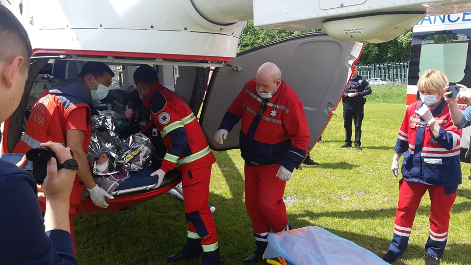 На Львівщині жінка отримала 50% опіків тіла – її вертольотом доставили до лікарні