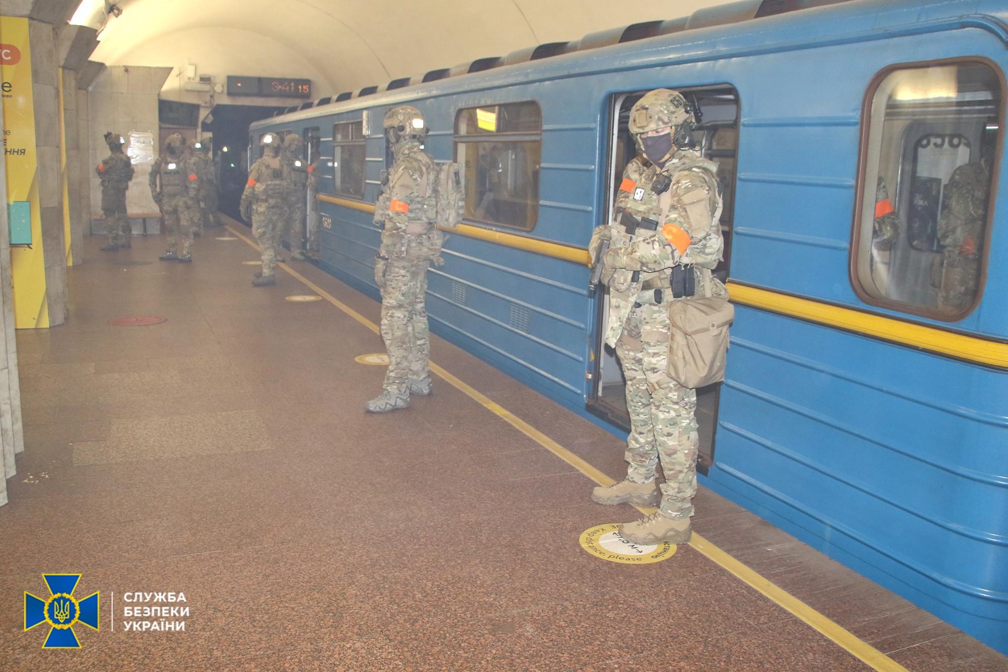 Антитерористичні навчання в метро Києва – як це виглядало
