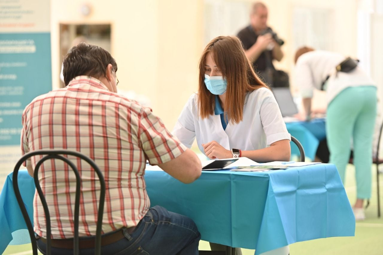Коронавірус в Україні: в Одесі відкрили центр вакцинації від Covid-19