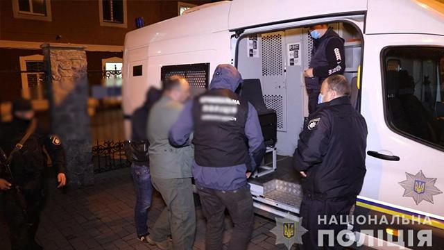 Поліція затримала організовану злочинну банду Закарпаття – ФОТО, ВІДЕО