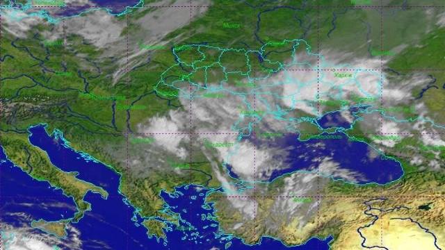 Циклон над Україною 1 червня