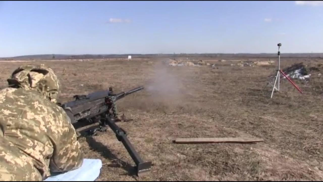 Кулемети та гвинтівки: Таран розповів про випробування великокаліберної зброї