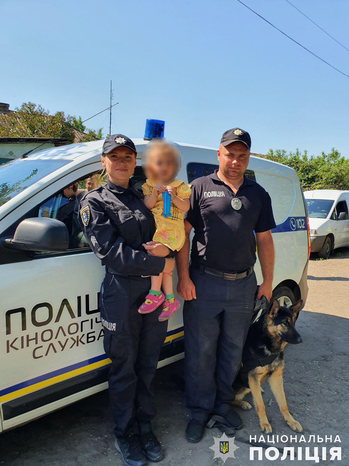 Жива і неушкоджена: в Миколаївській області знайшли загублену дворічну дівчинку