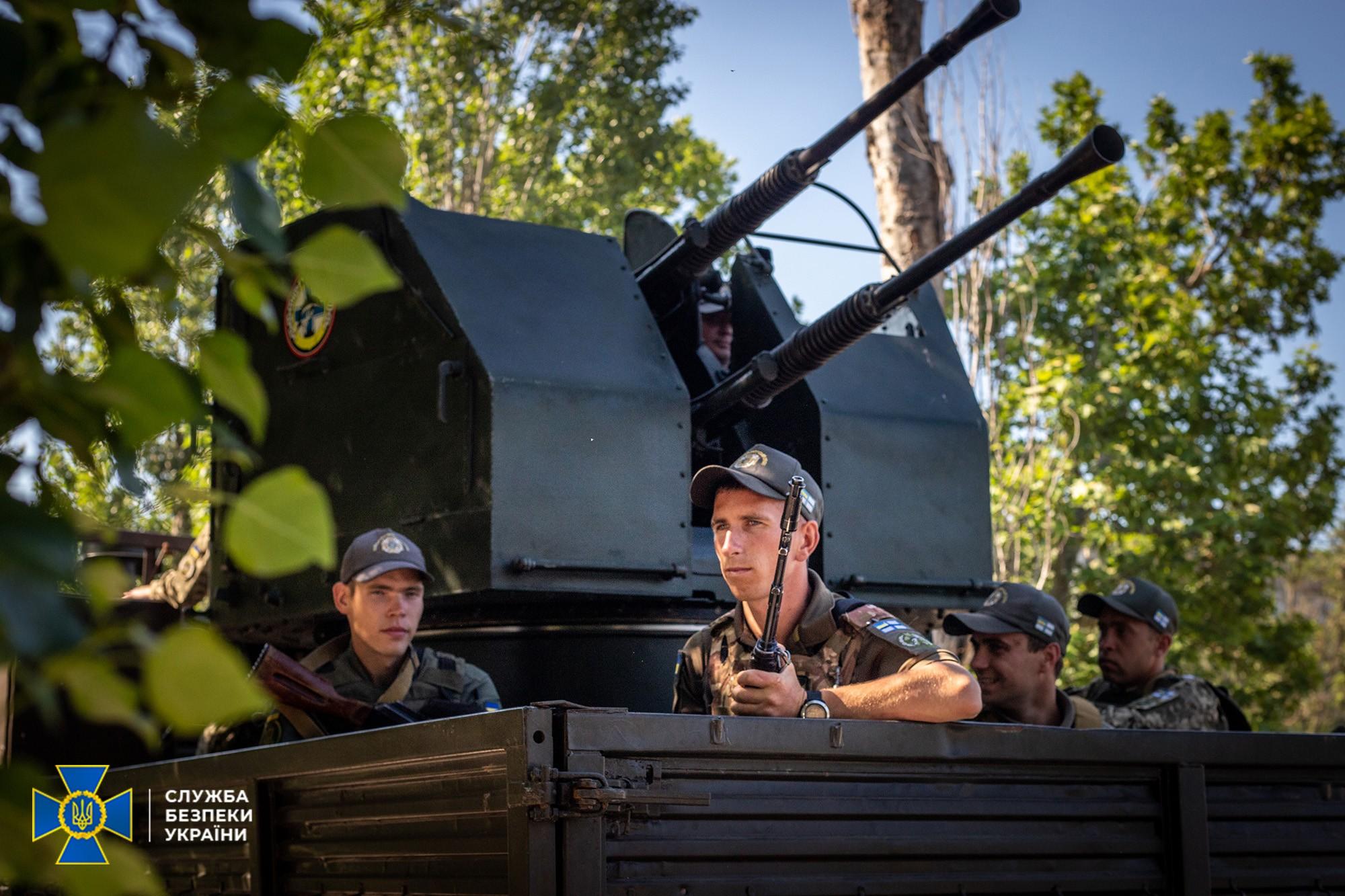 Умовних диверсантів затримали: як проходили антитерористичні навчання на Миколаївщині