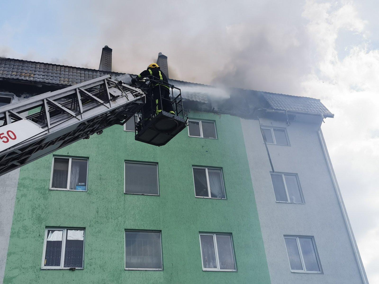 Пожежа в Білогородці: подробиці пожежі