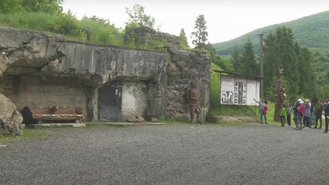 1,5 км тайных ходов: на Закарпатье сохранился бункер времен Второй мировой войны