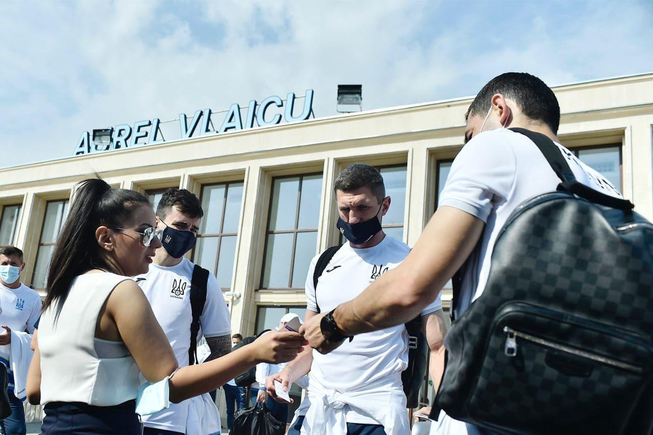 Збірна України вирушила до Глазго на матч 1/8 Євро-2020