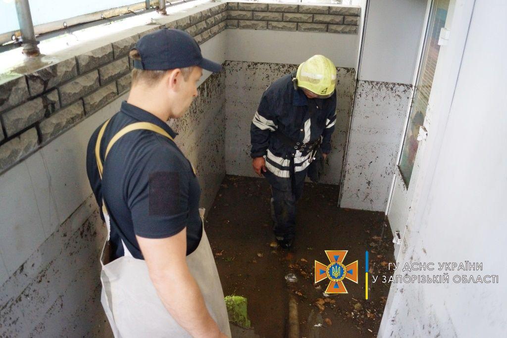 На Запоріжжі пройшла злива: які наслідки негоди (ФОТО)