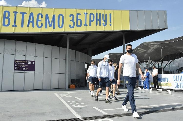 Повернення збірної до України