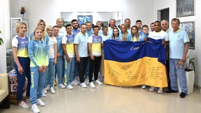 Олімпіада-2020: як проводжали збірну України у Токіо
