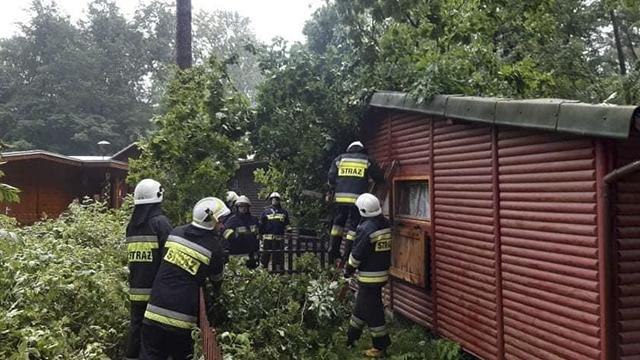 Буря в Польщі: ФОТО та ВІДЕО наслідків буревію в польських воєводствах