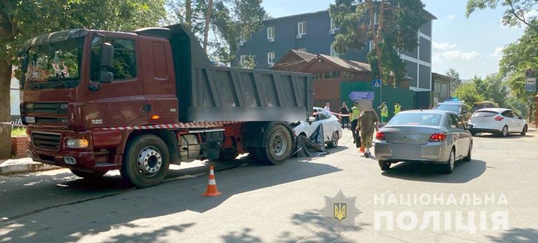 ДТП в Києві – чоловік збив на смерть жінку на мопеді