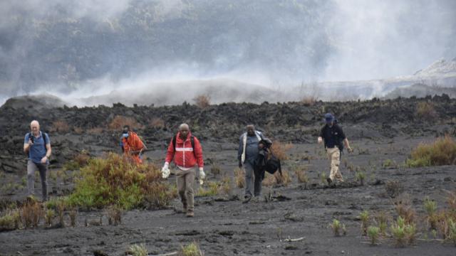 виверження вулкану в Конго