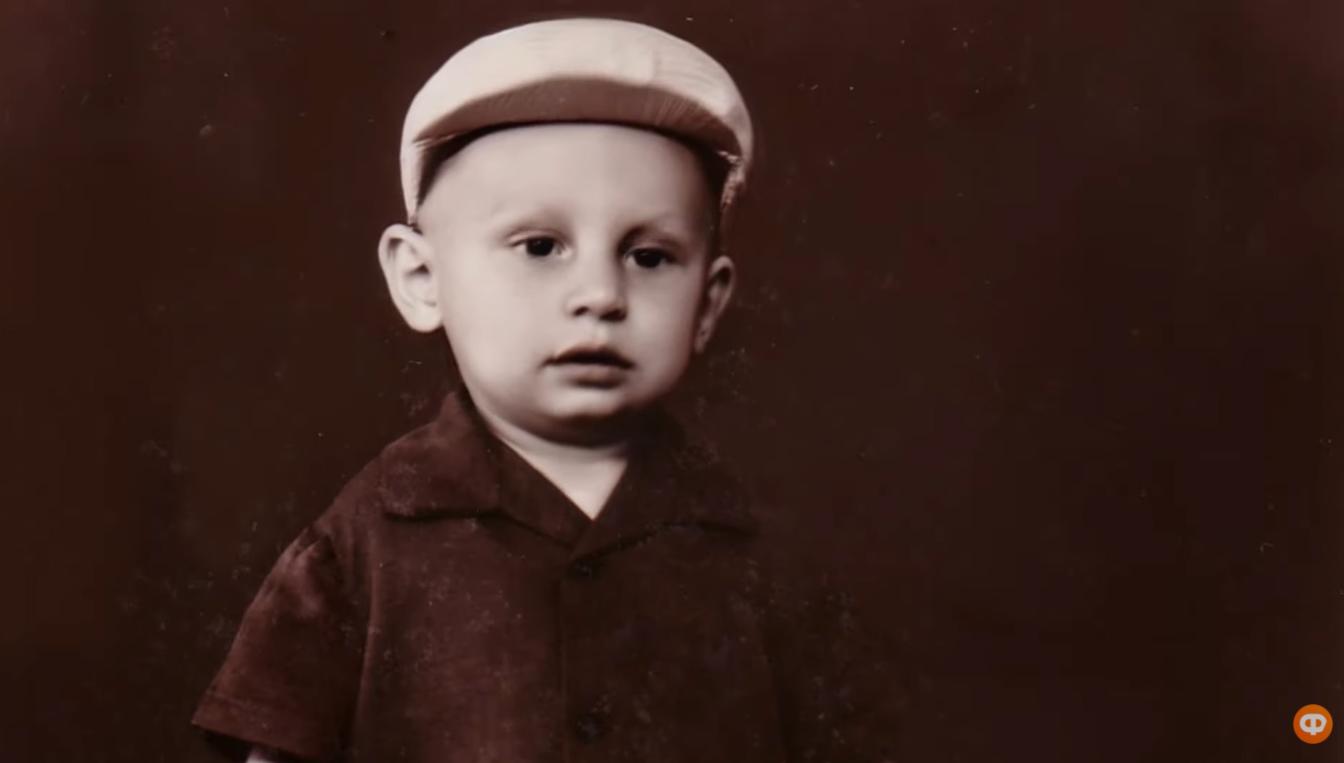 Виталий Кличко в детстве